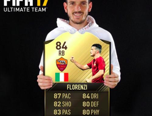 Florenzi per EASPORTS FIFA 2016