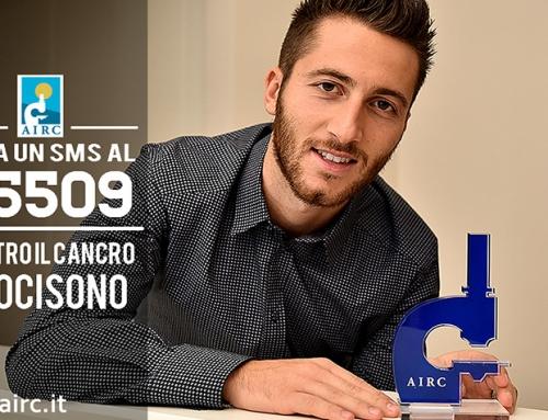 Bertolacci, un gol per la ricerca con AIRC