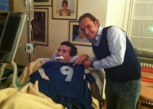 Gianluca Di Marzio e Stefano Borgonovo