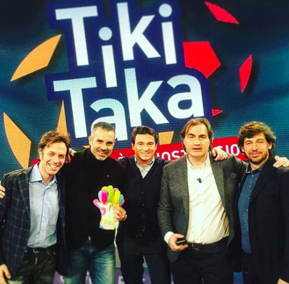 Max Sardella, Pierluigi Pardo, Stefano Sorrentino, Demetrio Albertini, Gabriele Parpiglia.