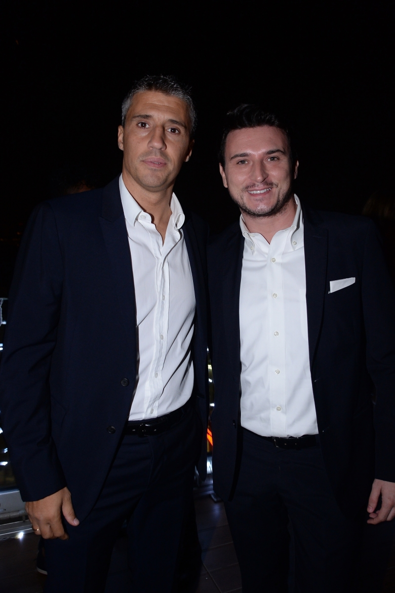 Hernan Crespo e Max Sardella