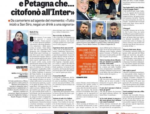 Giuseppe Riso intervistato dalla Gazzetta Dello Sport