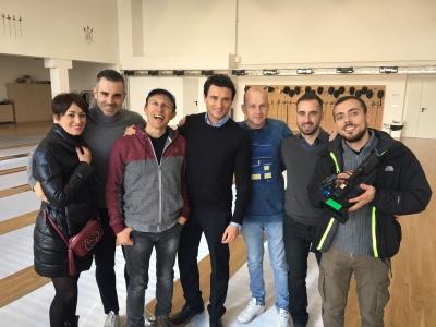 Stefano Sorrentino a Striscia La Notizia