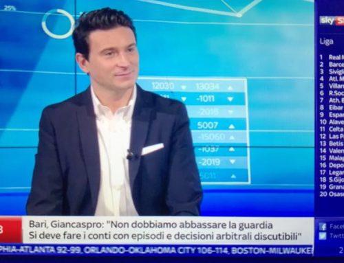 Su Sky Sport 24 in compagnia di Luca Marchetti