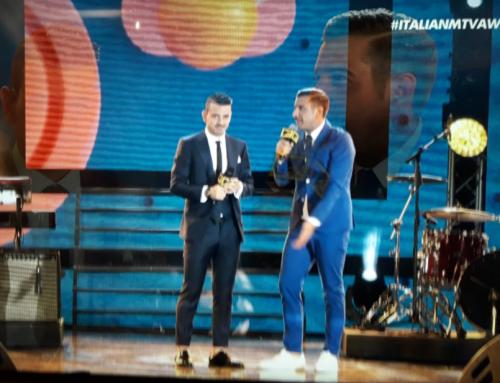 Florenzi agli MTV Awards Italia