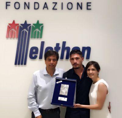 Fabio Pisacane Telethon