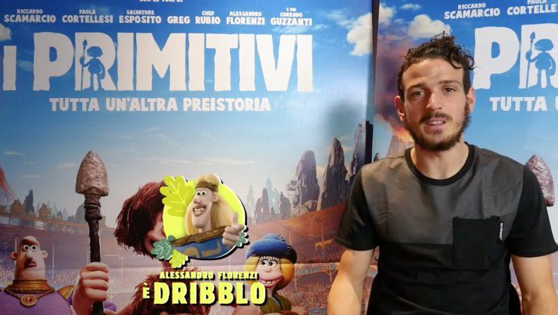 Alessandro Florenzi protagonista del film I Primitivi.
