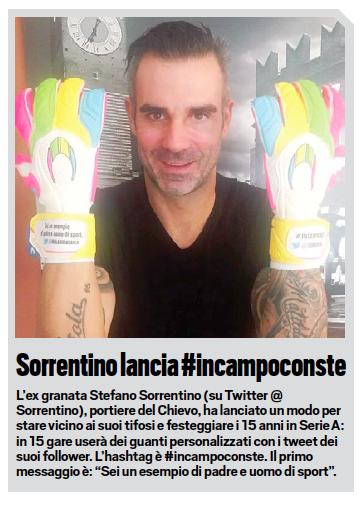 Tuttosport Stefano Sorrentino